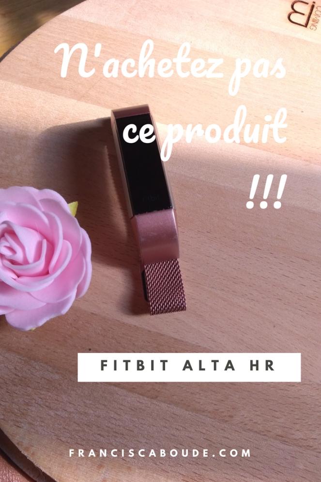 Fitbit arnaque