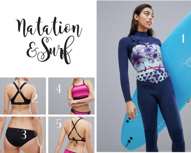 Natation & surf